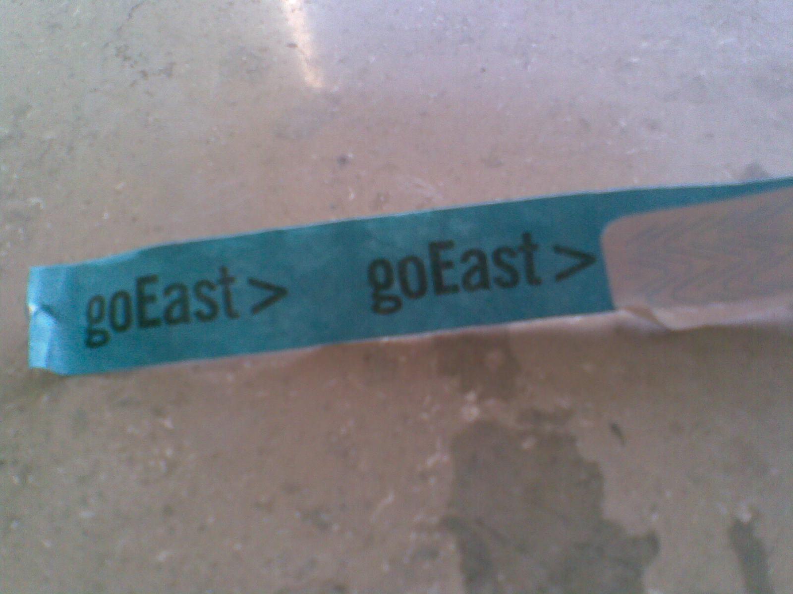 goEastBändchen
